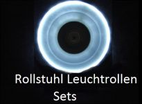 Rollstuhl Leuchtrollen Sets