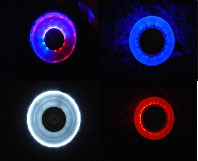 Leuchtrolle 76mm/8mm